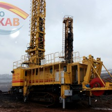 Cabin for blast hole drill rigs